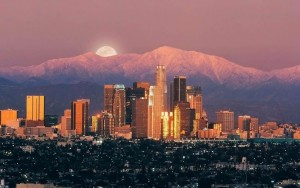 Los-Angeles-City-Moon-United-States